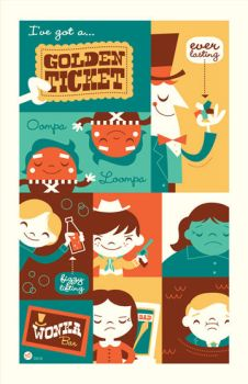 Willy Wonka by Montygog