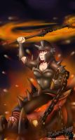 Scorched Earth Sejuani by Kahr-Noss