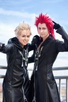 Axel and Demyx by twinfools