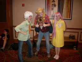 Animefest '12 - MLP Group 4 by TexConChaser