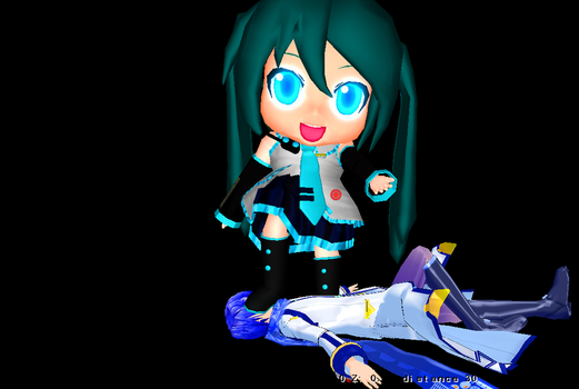 Miku-Dayo for Download by switchdraw
