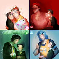 Toriko Otome Game AU by Sogequeen2550