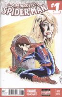 Gwen's Grave Sketch Cover by shinlyle
