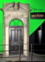 diagonally film set green screen harry potter by Sceptre63