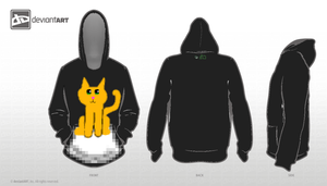 8-bit Hoodie Template by Gilly-Bird