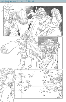 UXM: Dazzler Is Awake And She Is Over It. (pg 2) by Lightengale