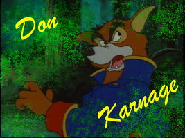 Don Karnage Desktop by CanineCanvas