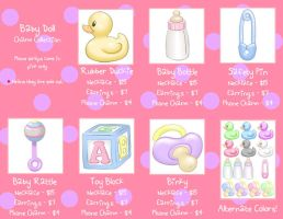 Baby Doll Charm Collection by Mirelmture