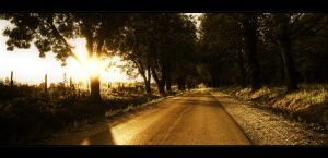 The road with no name by realityDream