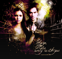 Damon and Elena by NinaDobrevAzure