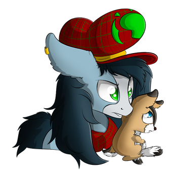 Ty Took A Cookie From The Cookie Jar by TyandagaArt