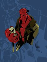 Hellboy by Boo by VPizarro626