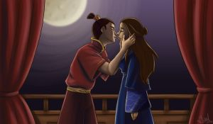Kiss Me Too Fiercely - Zutara by Irrel