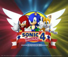 Sonic 4 Episode III Wallpaper by darkfailure