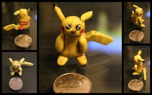 #0025 Pikachu by cheese-puff82