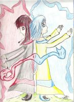 Good and Evil by Janica23