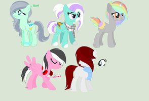 :ADOPTABLES: EVEN MOAR PONIES CLOSED! by MCD0NALDS