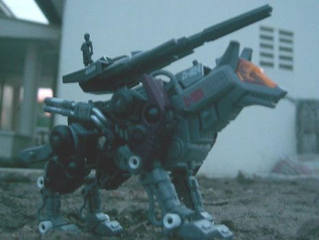 Zoid: Command Wolf -3 by onigs