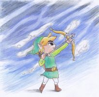 Toon Link by kanineious