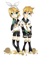 Rin and Len Kagamine by themangacritic