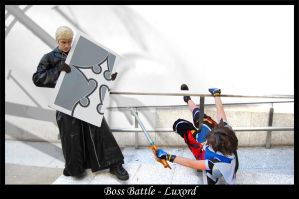 Boss Battle - Luxord by Castle-Oblivion-UK