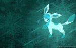 Glaceon Wallpaper by Cloud-Twister