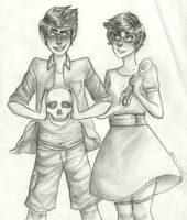 Jane and Jake by GhostlyStatic