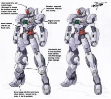 Revision Notes- Gundam Dawn by Tekka-Croe