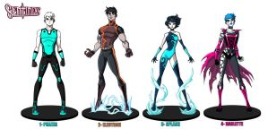Sentinels figurine designs by RichBernatovech