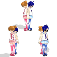 MMD Newcomers~ Raine and Rose by Lawlietluv12