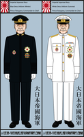 Imperial Japanese Navy - Admiral Tokugawa by Cid-Vicious