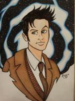 Doctor Who David Tennant Commission by RichBernatovech