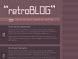 Retrofont preview by upiir