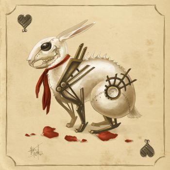 The Queen's White Rabbit by MeganMissfit