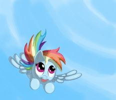 Soaring in the Sky by Grennadder