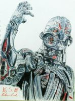 Ultron by Victoria-Creed