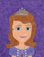 A Portrait of Princess Sofia by daisyplayer1