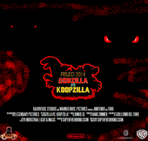 Godzilla vs. Koopzilla (2014) Movie Poster by Geoffman275