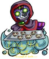 Reaper Cookie Valentine by Lady-of-Link