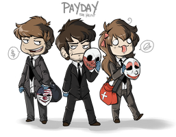 Payday: The Derp by pistachioZombie