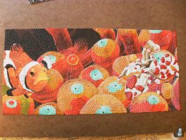 Clown fish one week 9 finished by Pgcollura
