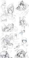 Diaries: SketchPoop by eXed-OUT