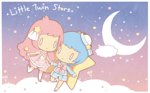 Little Twin Stars by threewiishes