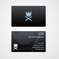 Business Cards for EDX, 2009 by slcrawford