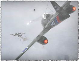 Liberator liberated by a Me 262 - War Thunder by Zhaituki