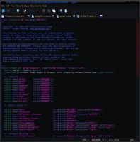 dcrDarkClassic - gedit theme by drankinatty