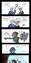 Jack Frost and Danny Phantom by chillydragon