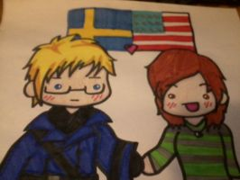 Me and Sweden :D by DBZchick27