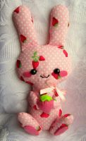 Strawberry bunny by annie-88