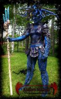 Leather female armor - Medousa by IsilWorkshop